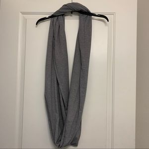 Daytrip striped infinity scarf